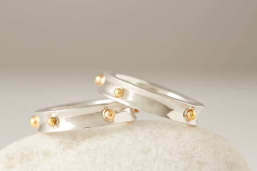 Concave Silver & Gold
