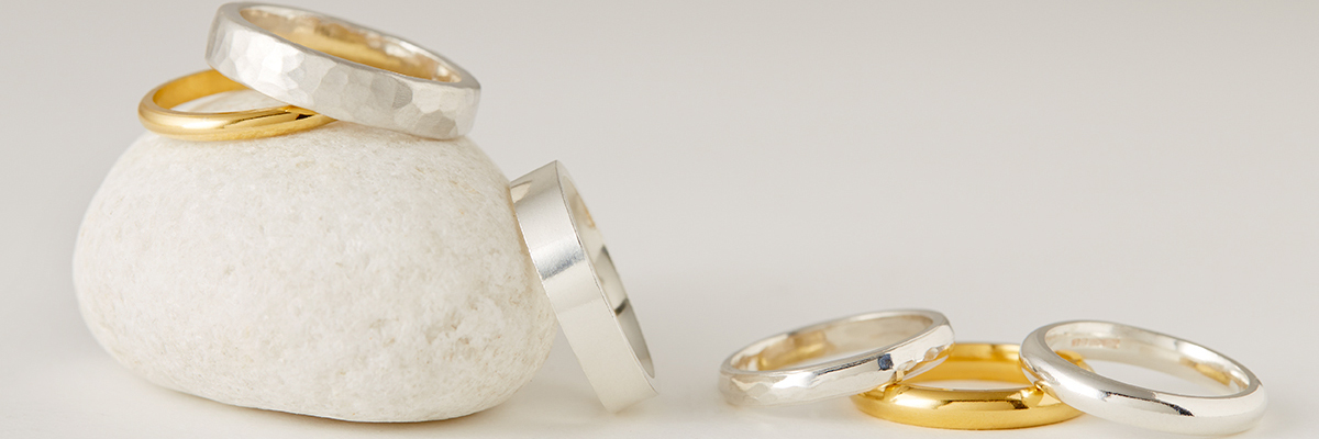 Fairtrade and Ethical Wedding rings April Doubleday