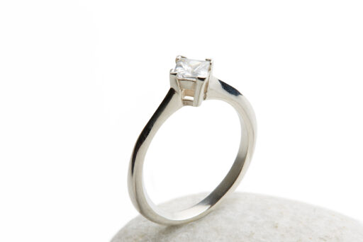 April's engagement rings have a contemporary design making them unique & beautiful. Using Fairmined ethical Fairtrade Gold, silver & platinum with Jeweltree Diamonds. www.AprilDoubleday.com - The Ethical Jeweller