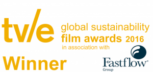 April Doubleday the ethical jeweller from Devon winner at the global sustainability film awards 2016