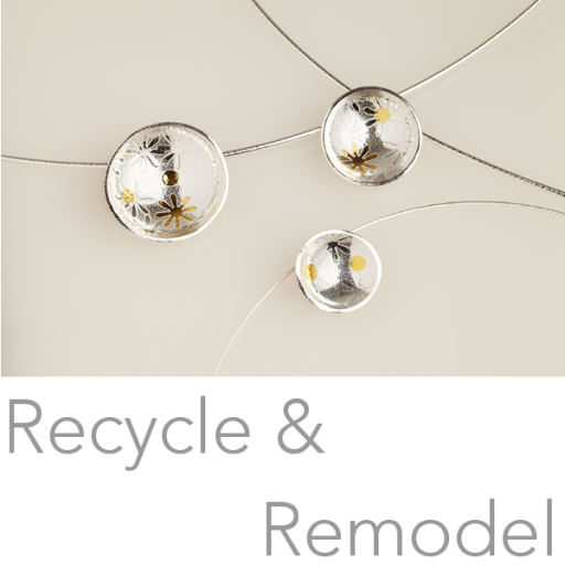 April Doubleday recycles and remodels you jewellery
